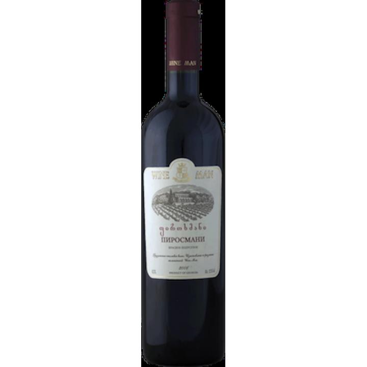 Вино Wine Man Піросмані червоне напівсухе 0,75 л