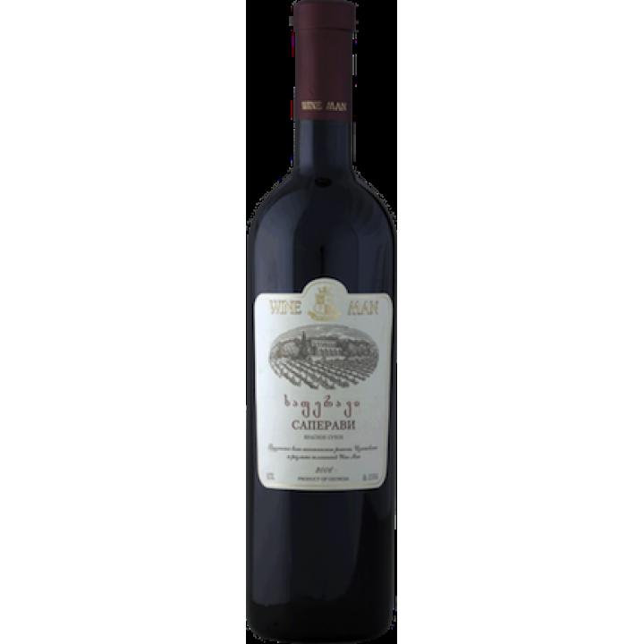 Вино Wine Man Сапераві червоне сухе 0,75 л