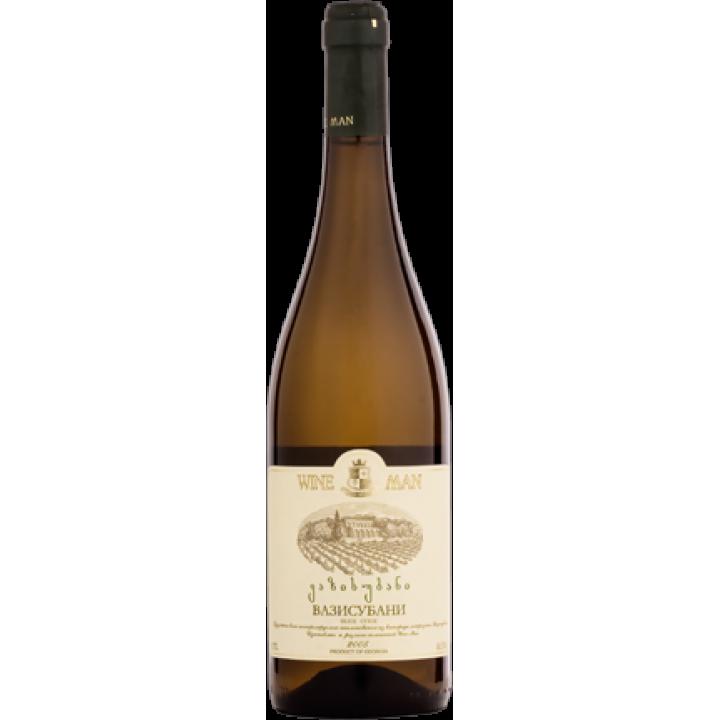 Вино Wine Man Вазисубані біле сухе 0,75 л