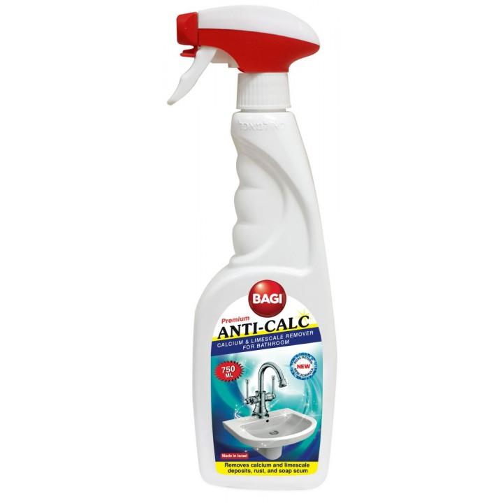 Засіб для ванни і сантехніки Bagi Anti-Calc 750мл (7290012514135)