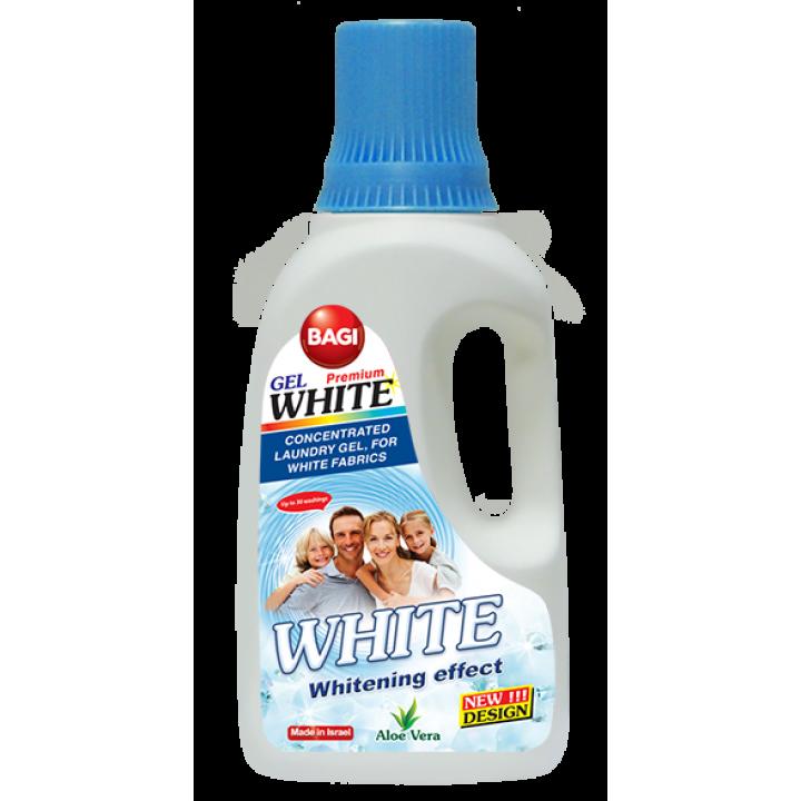 Гель для прання Bagi White для білих речей 1 л (7290016209167)
