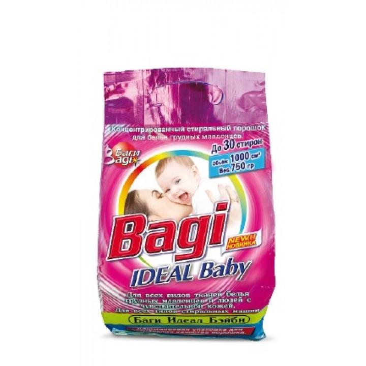 Пральний порошок Bagi Color для кольорових речей 750г (7290005310577)