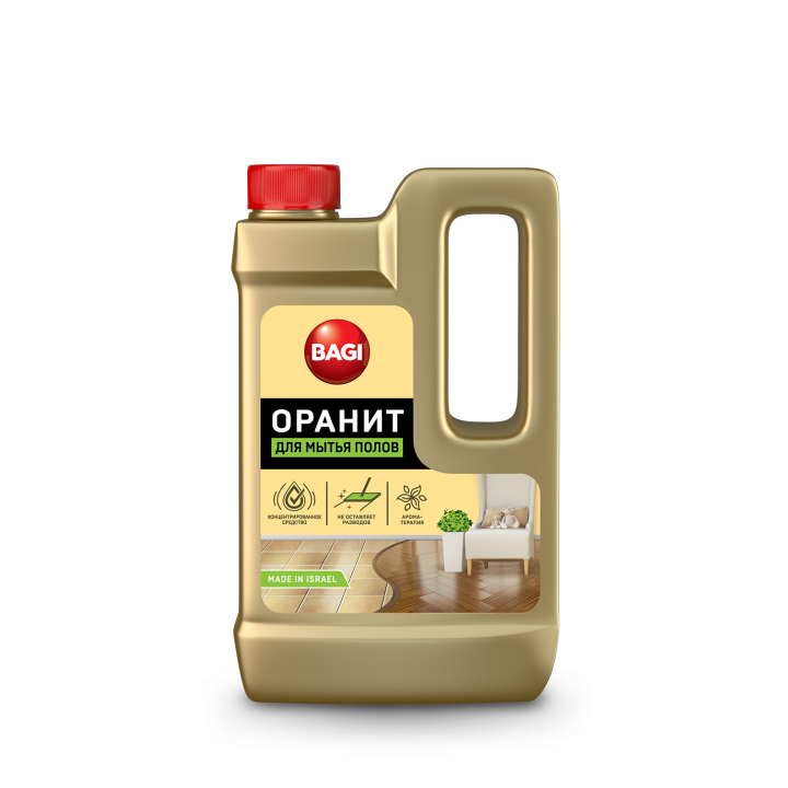 Засіб для миття підлоги Bagi Ораніт550мл (7290013769107)