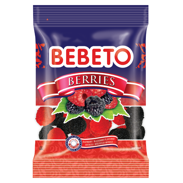 "Цукерки жувальні Bebeto""Ягоди""70 г (8690146053477)"