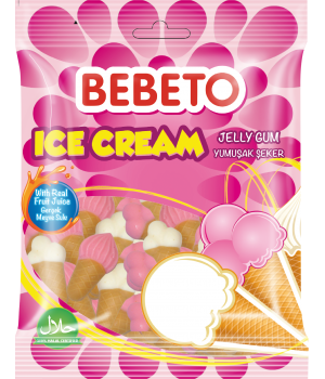 """Цукерки жувальніBebeto """"Морозиво""""80 г (8690146123637)"""