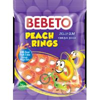 "Цукерки жувальні Bebeto""Персиковікільця"" 80 г (8690146658412)"