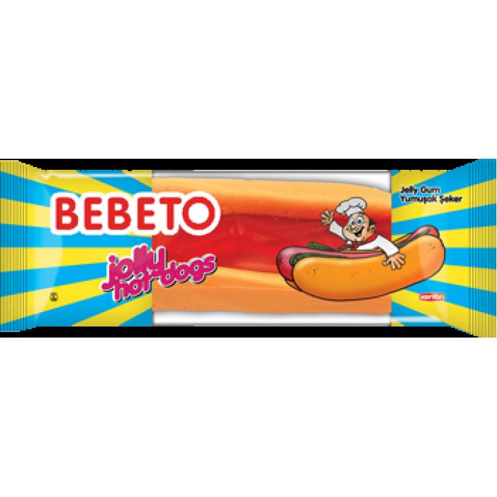 "Цукерки жувальні Bebeto ""Фаст фуд. Хот-дог"" 30 г (8690146132516)"