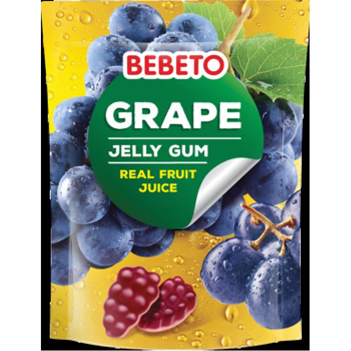 """Цукерки жувальні Bebeto """"Виноград"""" 60 г (8690146138662)"""