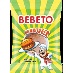"Цукерки жувальні Bebeto ""Фаст фуд. Гамбургер"" 30 г (8690146655718)"