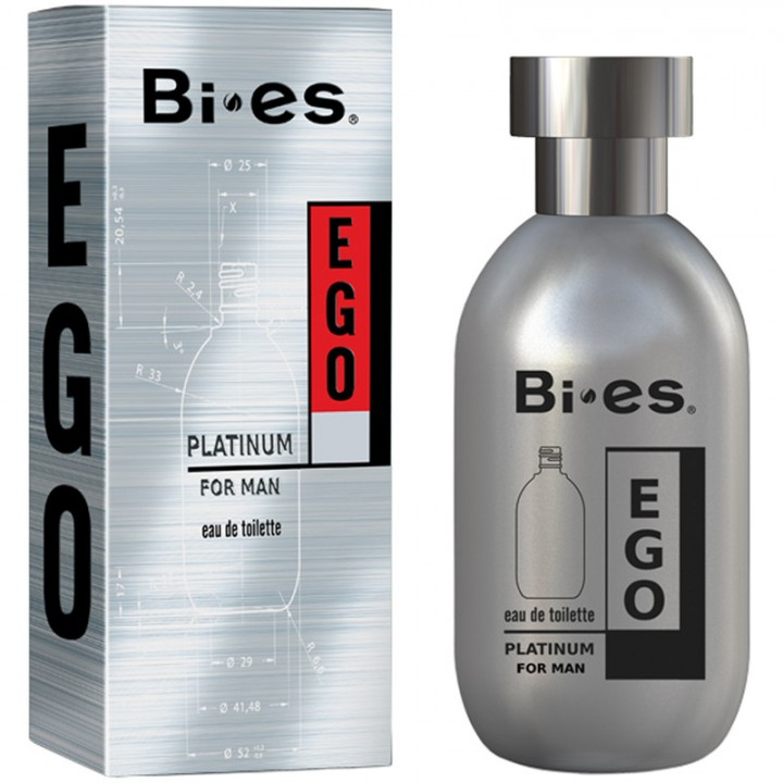 Туалетна вода Bi-Es Ego Platinum чоловіча 100 мл (5907699480524)