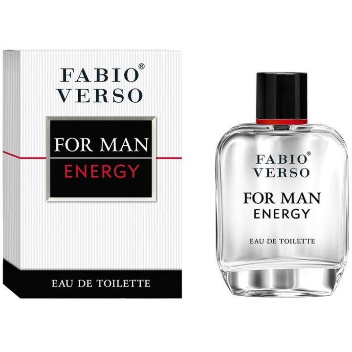 Туалетна вода Bi-Es Fabio Verso For Man Energy 100 мл (5905009044466)