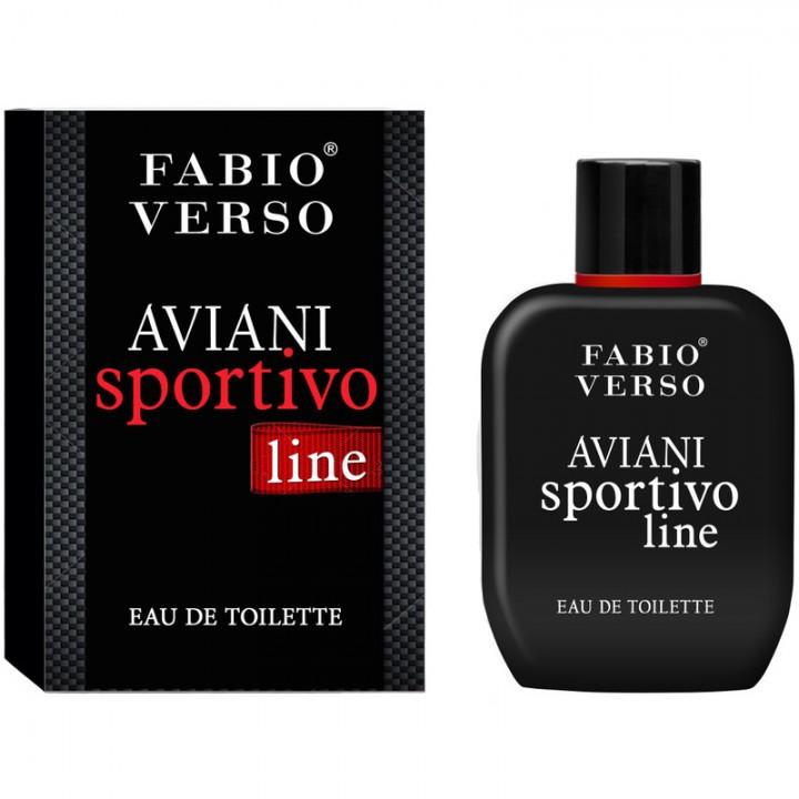 Туалетна вода Bi-Es Fabio Verso Aviani Sportivo Line чоловіча 100 мл (5905009044459)