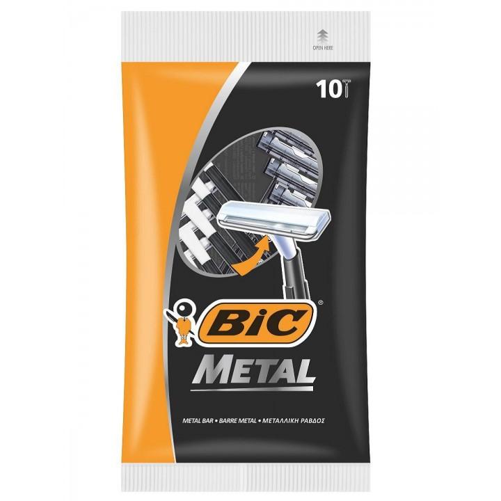 Станок BIC Metal без змінних картриджів 10 шт. (3086126636481)