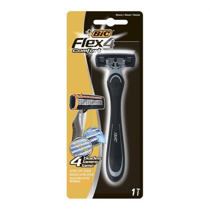 Станок одноразовий BIC Flex 4 Comfort 1 шт. (3086123394780)