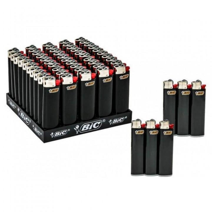 Запальничка BIC J3 Слім Міді чорна (3086129207213)