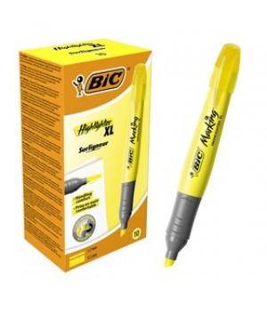 Текстовиділяч BIC Highlighter XL жовтий 12 шт. (3086123247161)