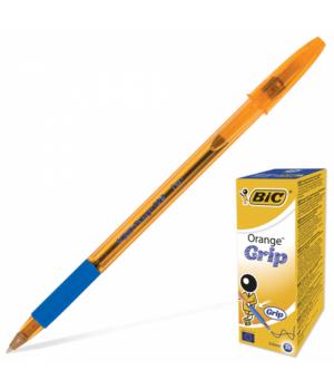 Ручки кулькові BIC Orange Grip сині 20 шт. (3086123008984)