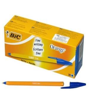 Ручки кулькові BIC Orange сині 20 шт. (3086123466128)