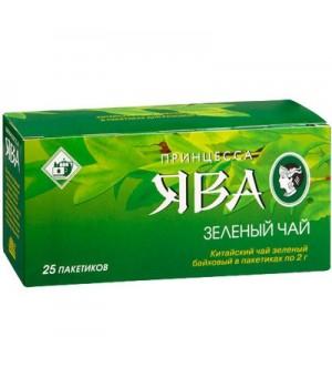"""Чай зелений """"Принцеса Ява"""" Економ 25шт. х 2г (4823096806495)"""