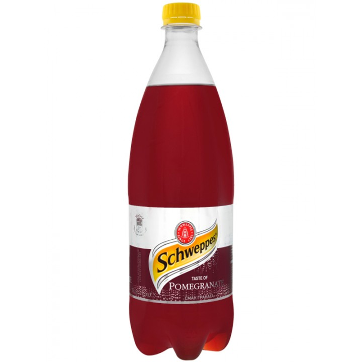 Напій газований Schweppes Гранат 1 л