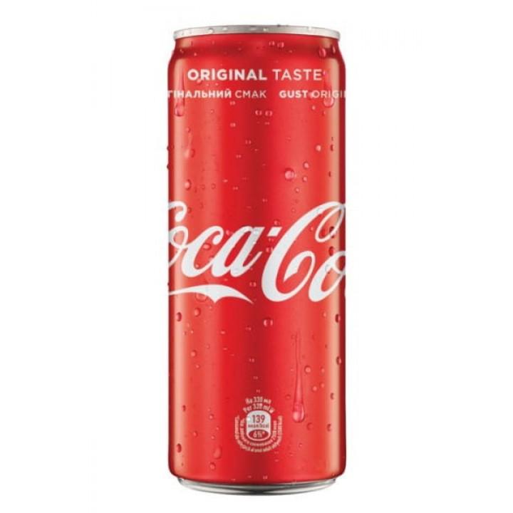 Напій газований Coca-Сola з/б 0,25 л