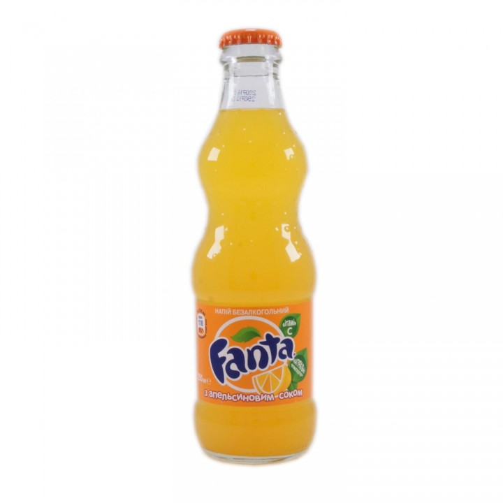 Напій газований Fanta Апельсин 0,25 л
