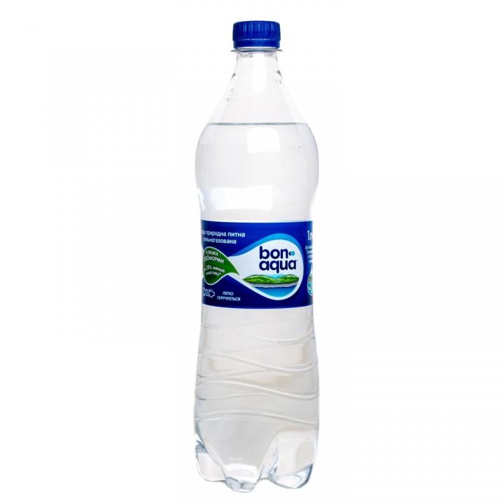 Вода BonAqua газована 1л (5449000026583)