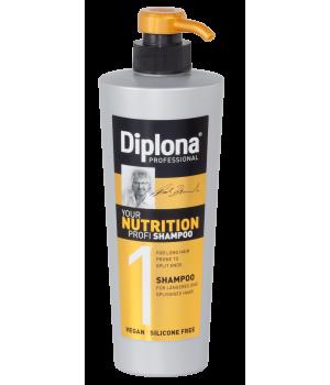 Шампунь Diplona Professional для довгого і посіченого волосся 600 мл (4003583135677)