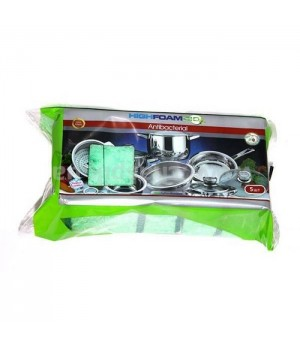 Губки кухонні HighFoam Antibacterial 5 шт. (4820178150156)