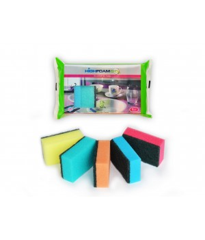Губки кухонні HighFoam Economic Help 5 шт. (4820178150248)