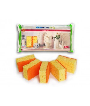 Губки кухонні HighFoam Foam rich 5 шт. (4820178150149)