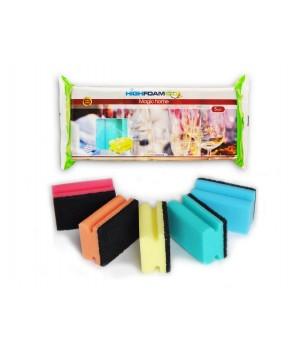 Губки кухонні HighFoam Magic home 5 шт. (4820178150187)