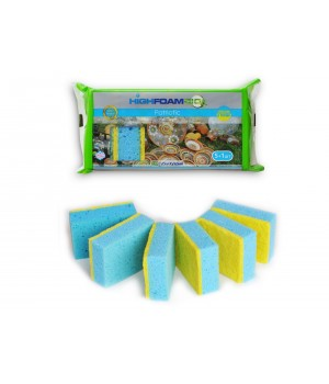 Губки кухонні HighFoam Patriotic 5+1 шт. (4820178150460)