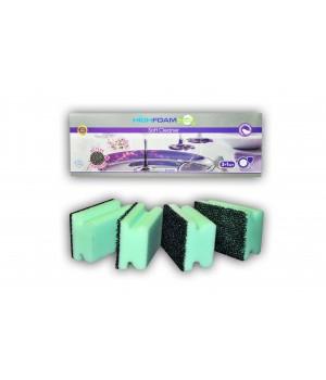 Губки кухонні HighFoam Soft Cleaner 3+1 шт. (4820178150507)