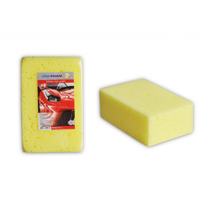 Губка автомобільна HighFoam Mister car wash 1 шт. (4820178150316)