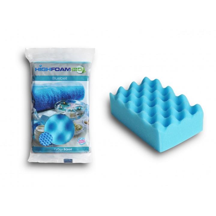Губка банна HighFoam Bluebell 1 шт. (4820178150309)