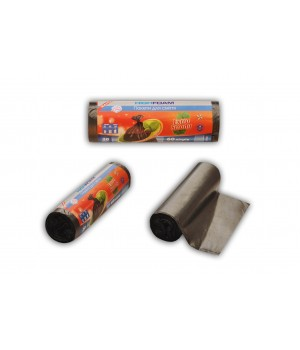 """Пакети для сміття HighFoam """"Чистим-Блистим"""" 60 л / 20 шт. (4820160790216)"""