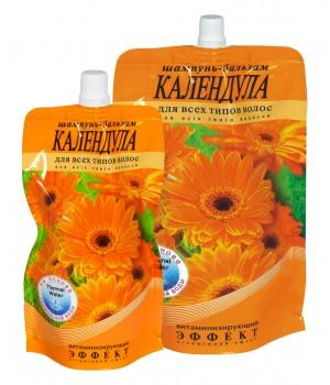 Шампунь-бальзам «Календула» вітамінізувальний для всіх типів волосся (дой-пак) 270 г (4820215052467)