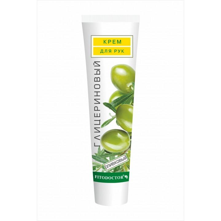 Крем для рук гліцериновий оливковий 44 г (4820215050647)