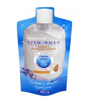 Крем-мило «Мигдаль і зволожувальне молочко» живильне (дой-пак) 300 г (4820058763414)