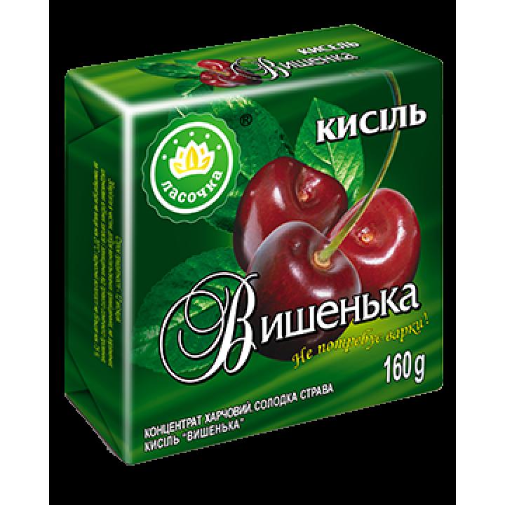 """Кисіль у брикеті """"Ласочка"""" Вишенька 160 г"""
