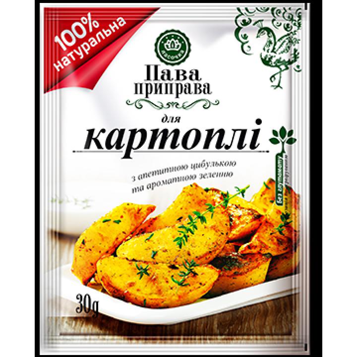 """Пава приправа """"Ласочка"""" для картоплі 30 г (4820043251629)"""