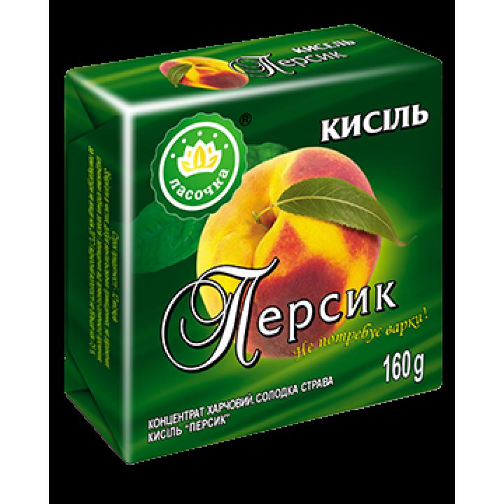 """Кисіль у брикеті """"Ласочка"""" Персик 160 г"""