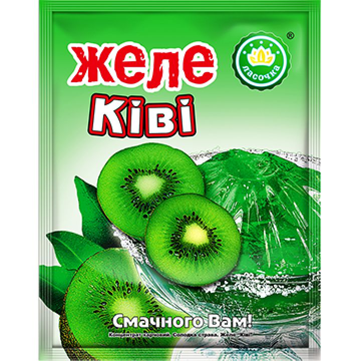 "Желе ""Ласочка"" Ківі 90 г (4820043250196)"