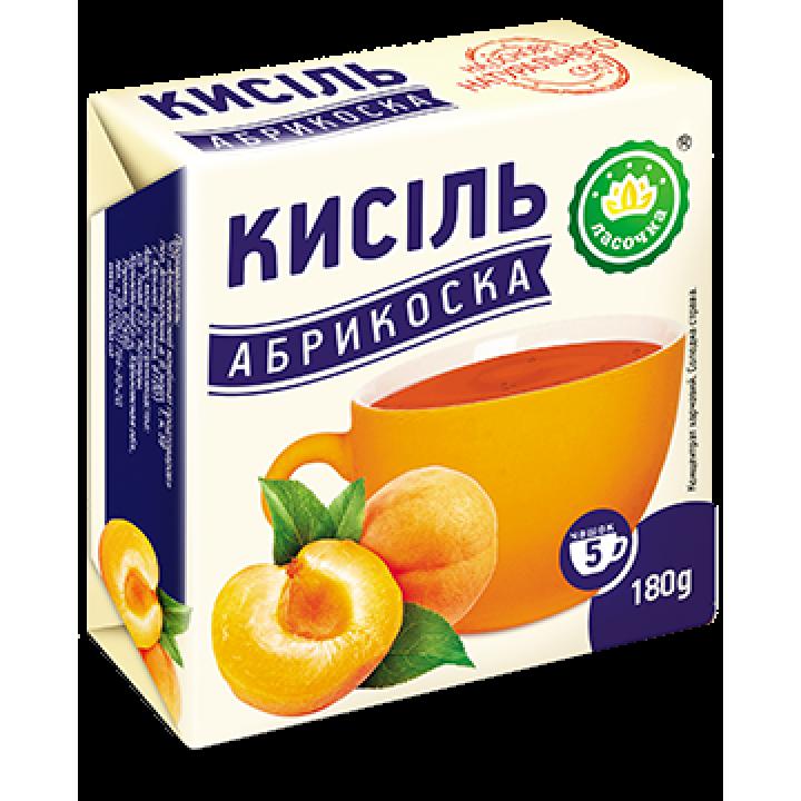 """Кисіль у брикеті """"Ласочка"""" Абрикоска 180 г"""