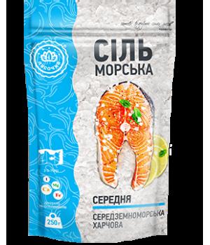 """Сіль морська """"Ласочка"""" середня 250 г (4820043251063)"""