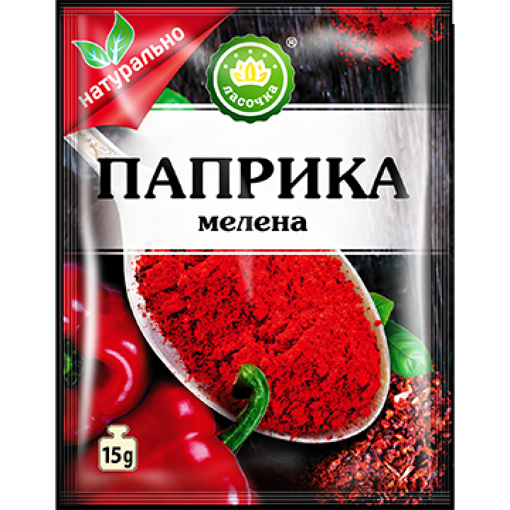 """Паприка мелена """"Ласочка"""" 15 г (4820043252060)"""