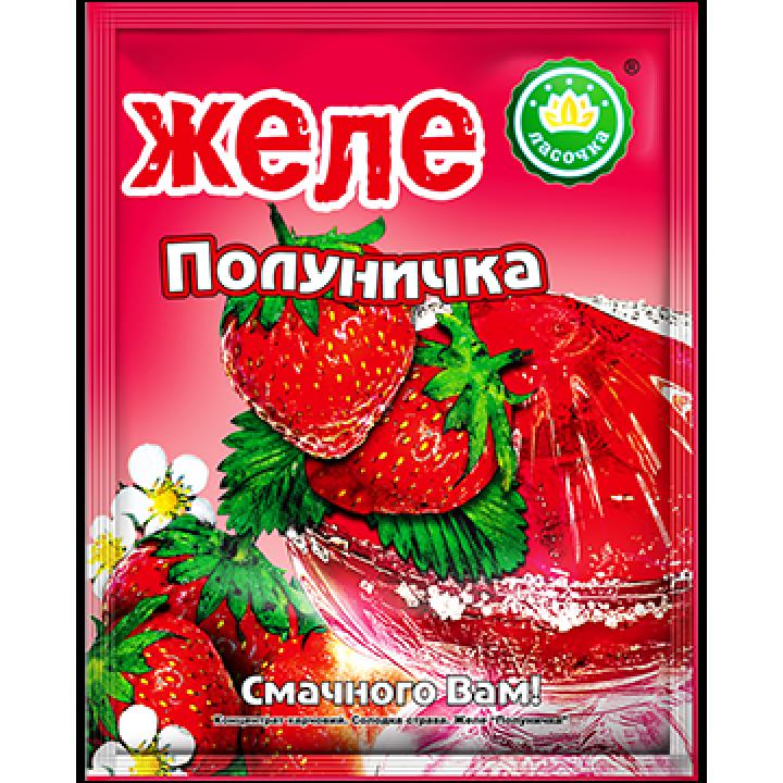 "Желе ""Ласочка"" Полуничка 90 г"