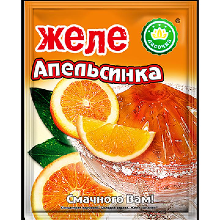 """Желе """"Ласочка"""" Апельсинка 90 г"""