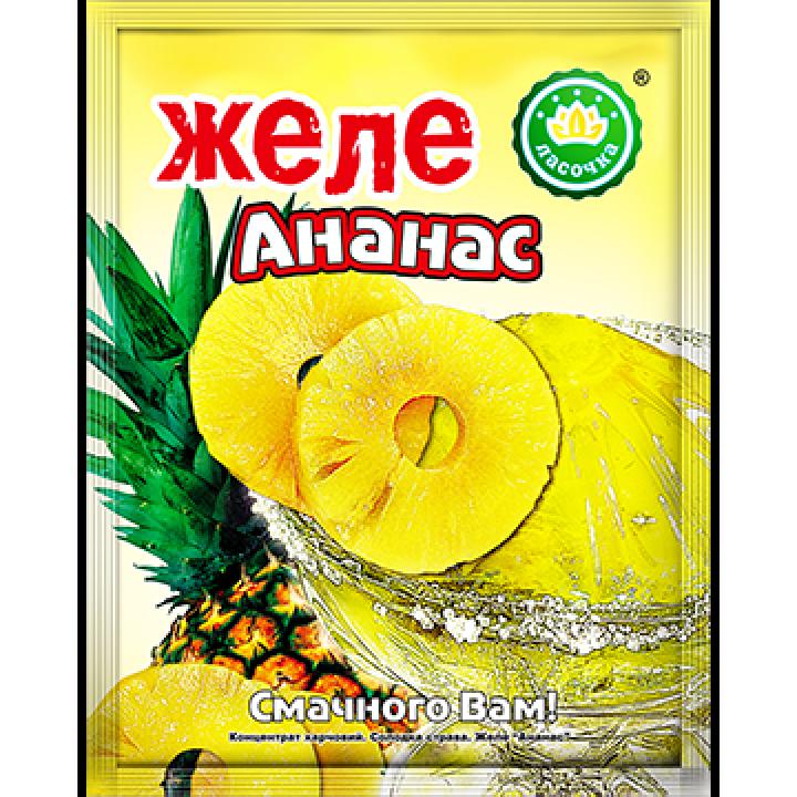 """Желе """"Ласочка"""" Ананас 90 г"""